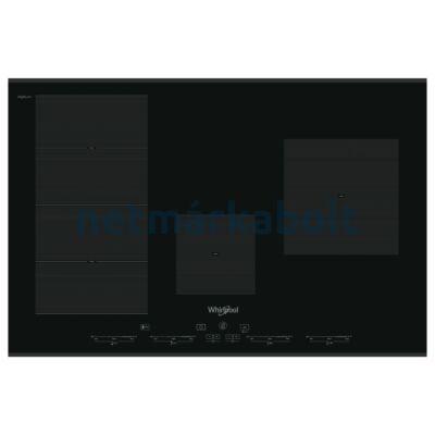 WHIRLPOOL SMC 774F/BT/IXL Beépíthető Indukciós Főzőlap