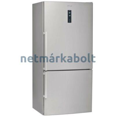 WHIRLPOOL W84BE 72 X 2 alulfagyasztós NoFrost hűtőszekrény